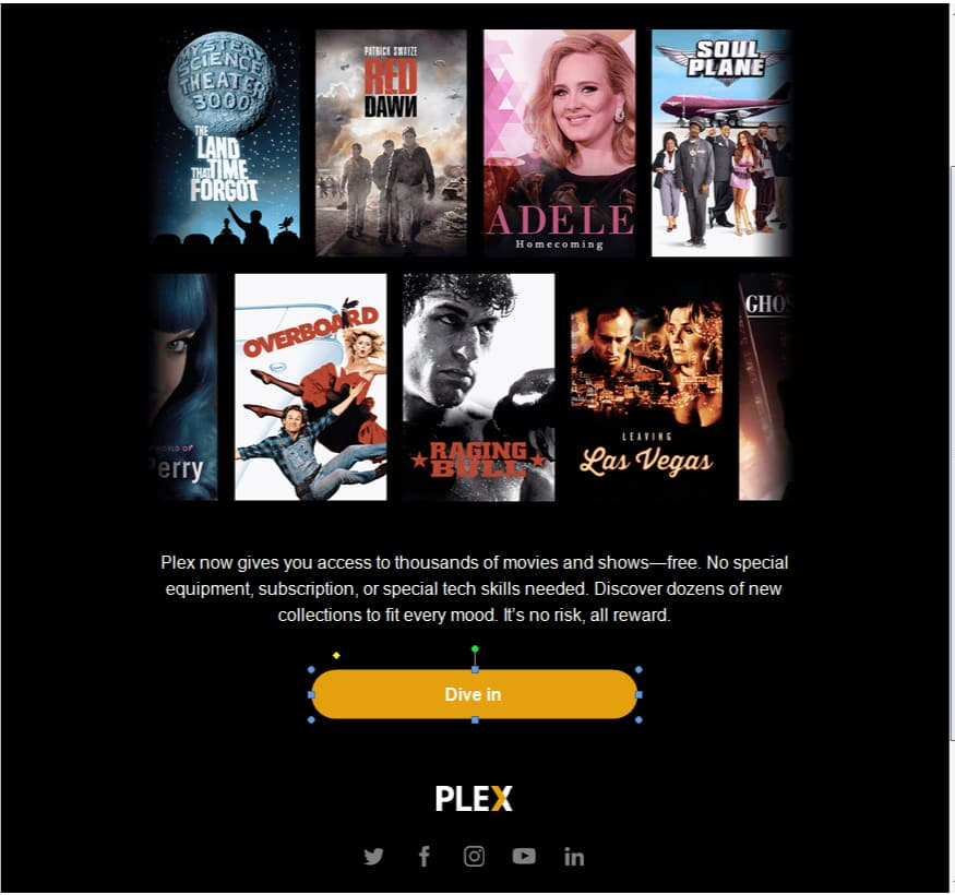 PSA - for current PLEX subcribers and Free account users - Free movies online via plex app and web site YMMV