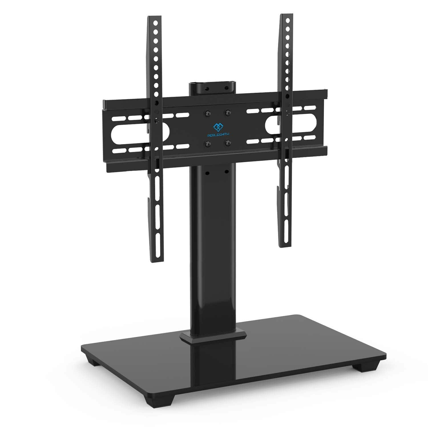 Perlesmith Universal Table Top Tv Stand Mount For 37 55 Tvs