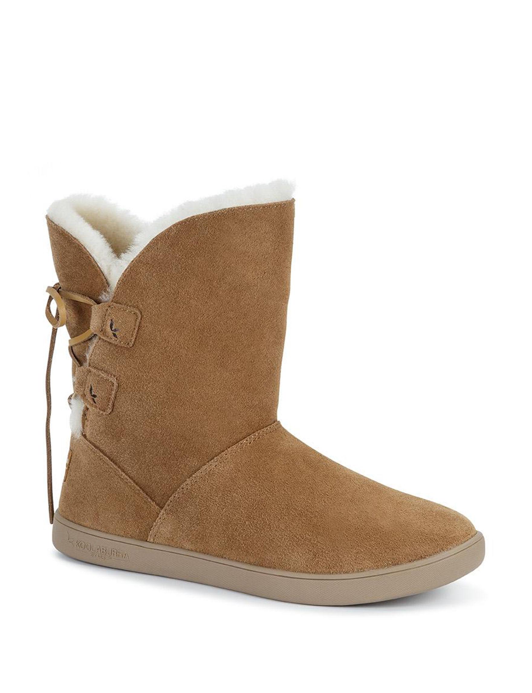 9264f640f5a Koolaburra by UGG Shazi Short Boots (Black or Brown) - Slickdeals.net