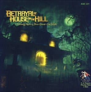 Board game - Betrayal at house on the hill. $24.15 at amazon