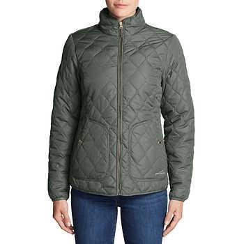 97840a349fd5c Eddie Bauer Ladies' Quilted Jacket - $24.99 - Slickdeals.net