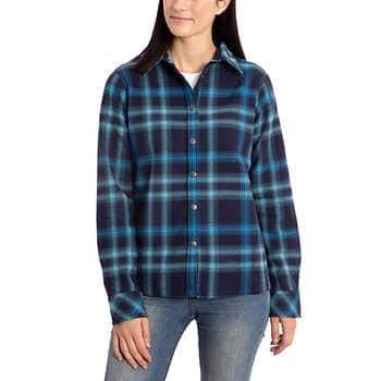 5f904f83 Costco: Orvis Ladies' Flannel Shirt Jacket for $9.97 + FS - Slickdeals.net