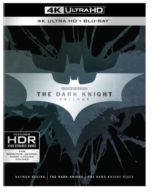 Dark Knight Trilogy Movies (4K Ultra HD Blu-ray - Slip Sleeve) $42.59+ Free S/H Barnes & Noble