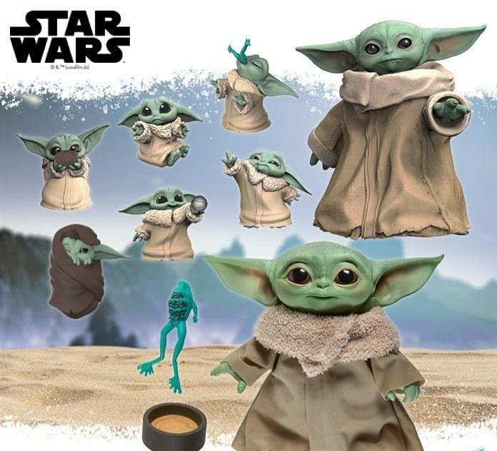 Target Baby Yoda figures and toys pre-order B2G1 free, also on sale all Star Wars toys, clothing and bedding (movies books too YMMV)
