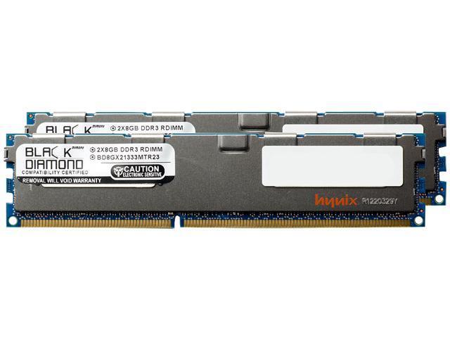 16GB (2 x 8GB) DDR3 SDRAM ECC Registered Memory 1333 (PC3 10600) $71