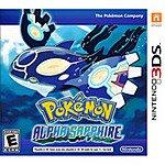 Pokemon 3DS Games at Walmart/Target