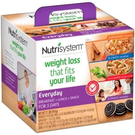 Nutrisystem Everyday 5 Day Weight Loss Kit $24.98 Walmart
