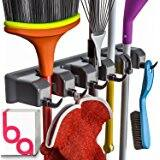 Berry Ave Broom Holder and Garden Tool Organizer $2.72
