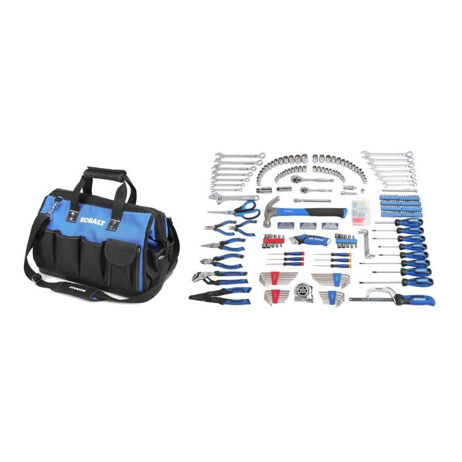 Lowe's $99.00  Kobalt 364-Piece Standard (SAE) and Metric Polished Chrome Mechanic's Tool Set