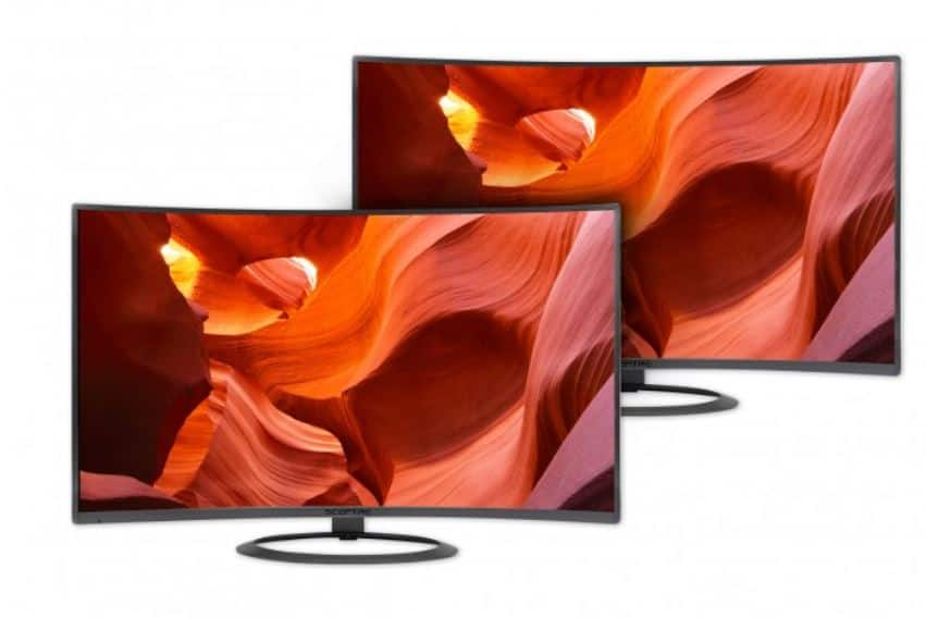"Sceptre 27"" Curved 1080p Monitor (C275W-1920R) Valentine's Day BOGO - $214.19 + Free Shipping"