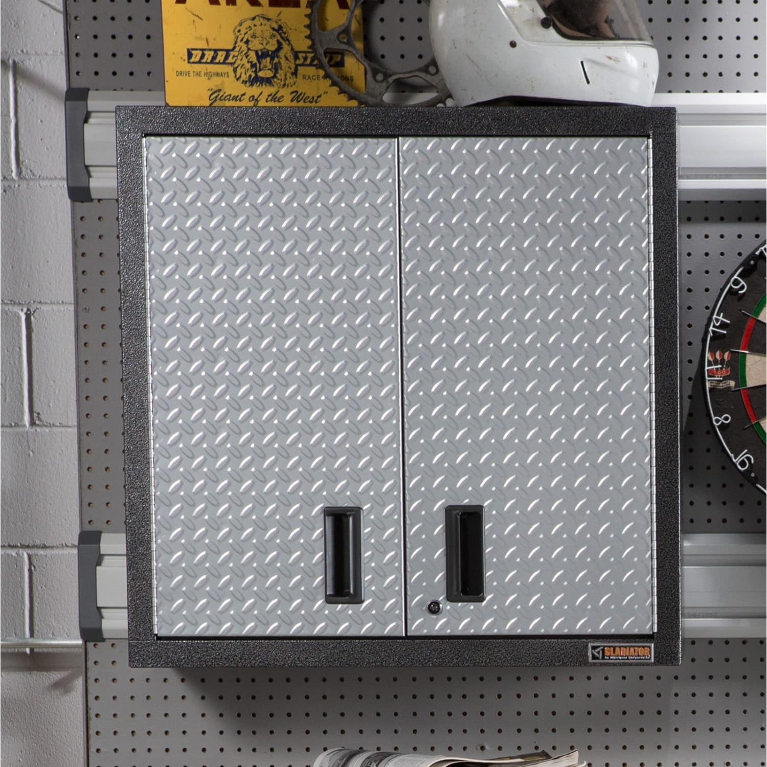 """Gladiator Premier Series 30"""" Garage Wall Cabinet $100 at Jet.com (+ extra 15% off for new customers)"""