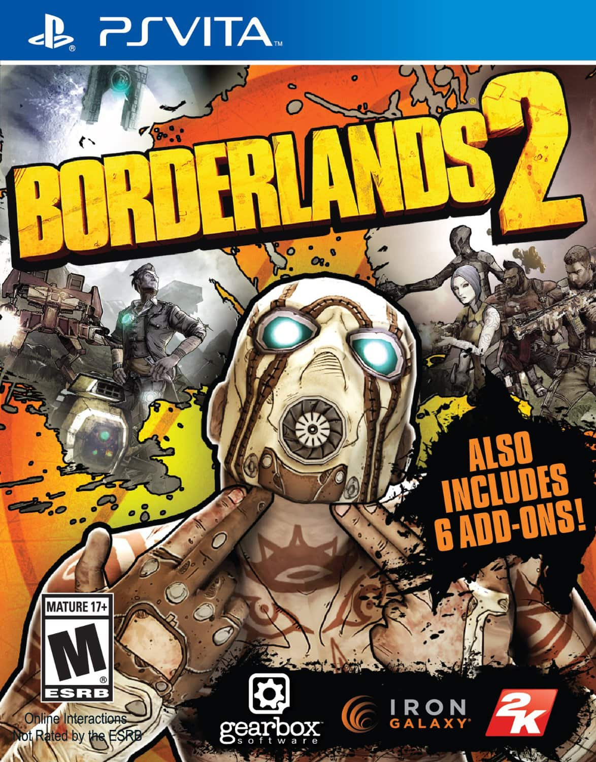 Borderlands 2 - PS Vita - $12.50 (EXCLUSIVELY FOR PRIME MEMBERS)
