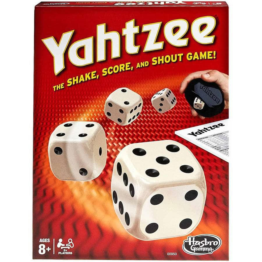 Classic Yahtzee Family Dice Game for Ages 8 and up $5.99