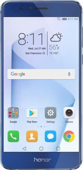 220.99 Huawei - Refurbished Honor 8 4G LTE with 32GB Memory Cell Phone (Unlocked)+ $25 Simple Mobile Airtime Card + SIM Kit