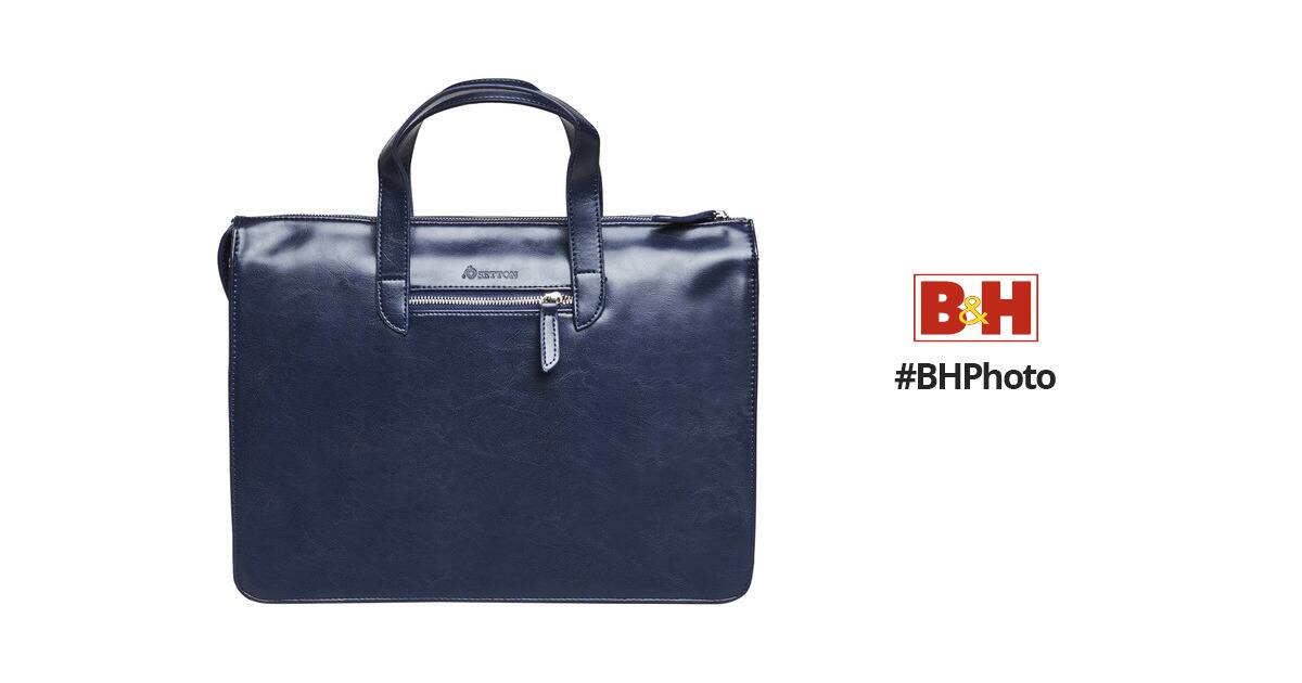 """Setton Brothers Elogio Slim Briefcase for 13"""" Laptop (Blue) $9.99 at B&H"""