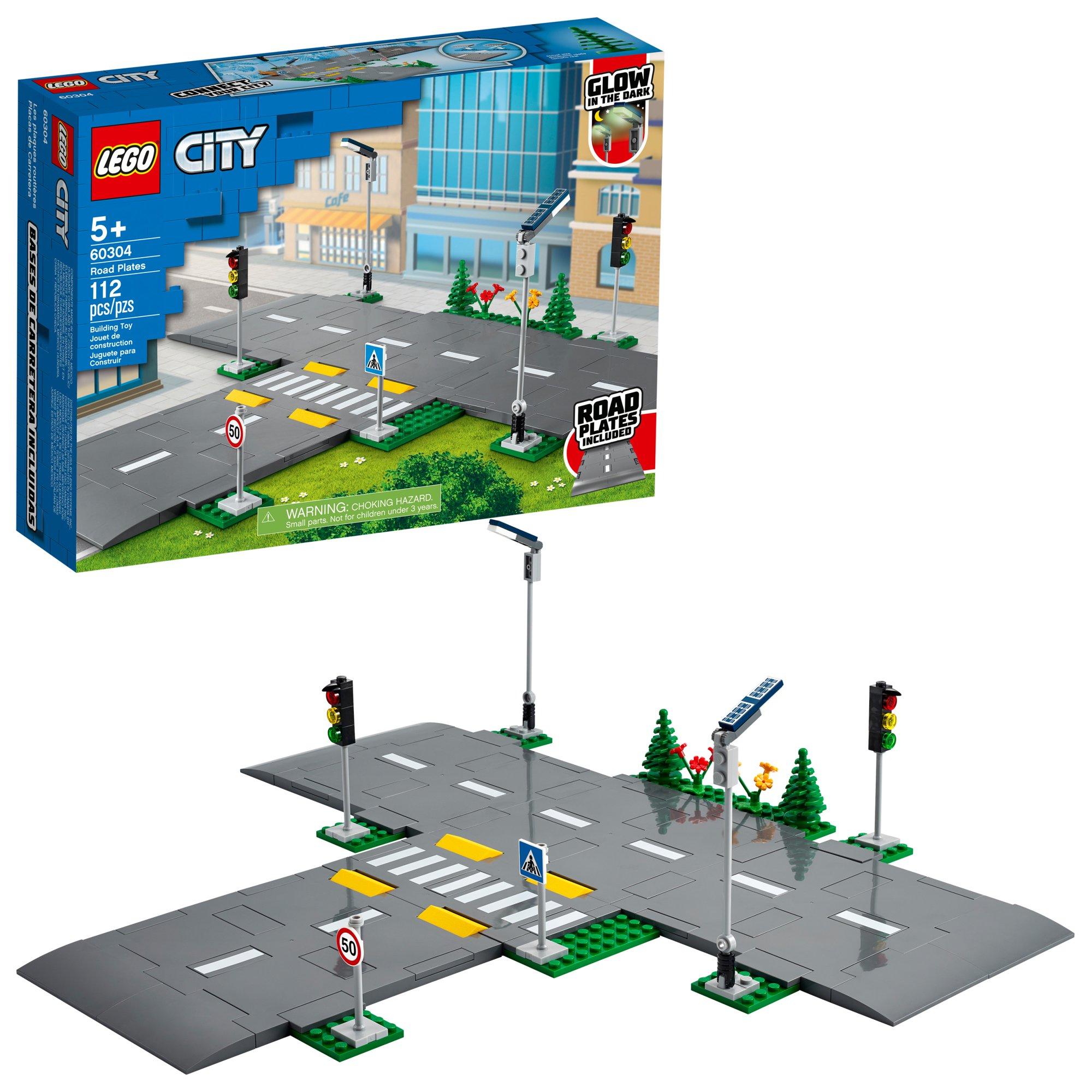 LEGO City Road Plates 60304 (112 Pieces) $11.04 YMMv