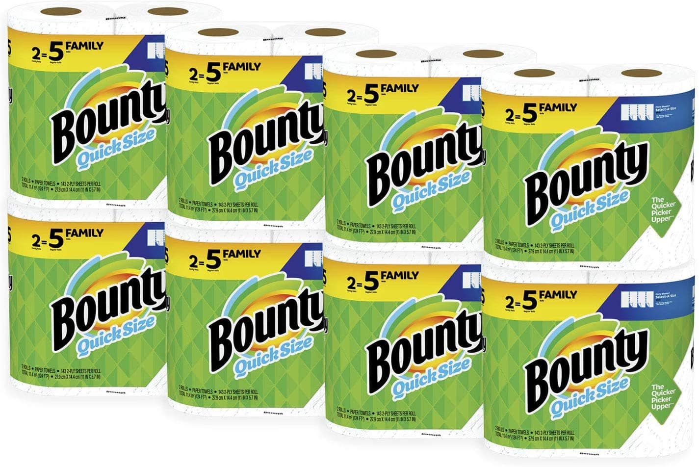 <Amazon Warehouse>  Bounty Quick-Size Paper Towels, White, Family Rolls, 16 Count (Equal to 40 Regular Rolls) 16.90 after 20% off.