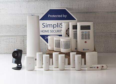 Simplisafe Home Security 18-piece System  (The Leader)  on sale for $400($300 off)