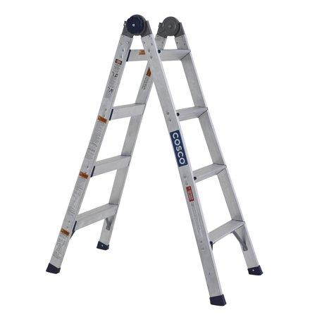 Walmart - YMMV - Cosco 2-in-1 Aluminum Ladder and Step Stool - $17 - Regularly $77