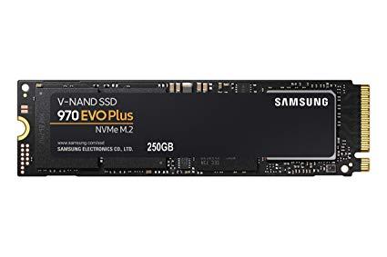 Samsung 970 evo plus 250gb pcie 3.0 x 4 nvme $55.99  Best Buy
