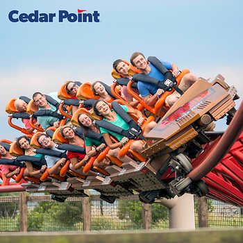 Cedar Point 2 Any Day tickets + Parking $80 - Costco