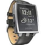 Pebble Steel Smartwatch Stainless Pre-Owned on Cowboom for $54.99 + tax shipping