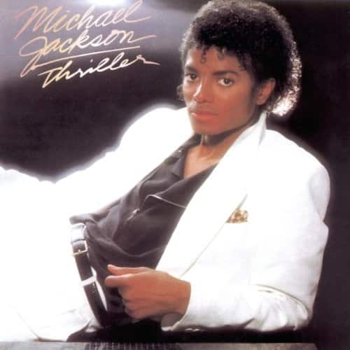 Thriller by Michael Jackson Vinyl Record $10.75 with Free Shipping at Amazon
