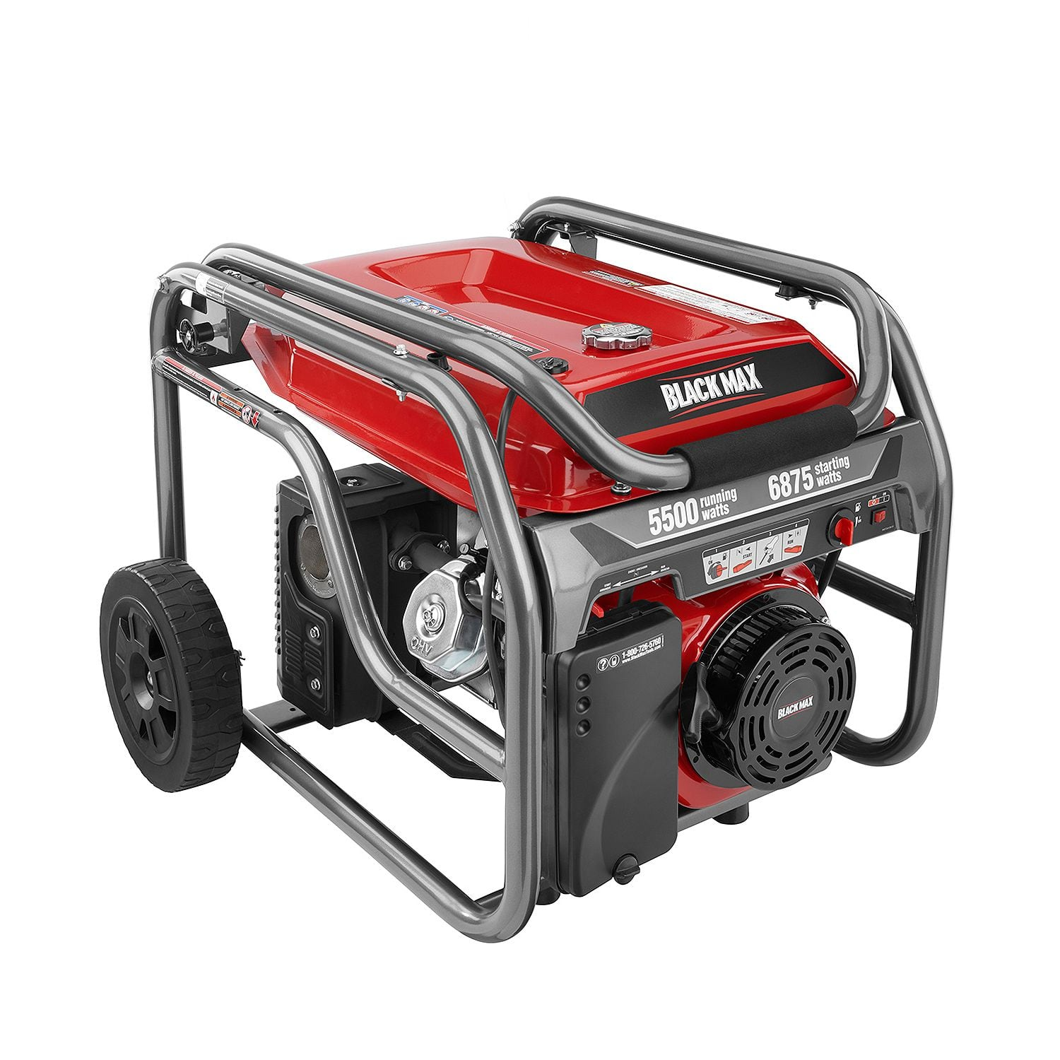 Black Max 5,500 Watt Portable Gas Generator $399 with Free Shipping