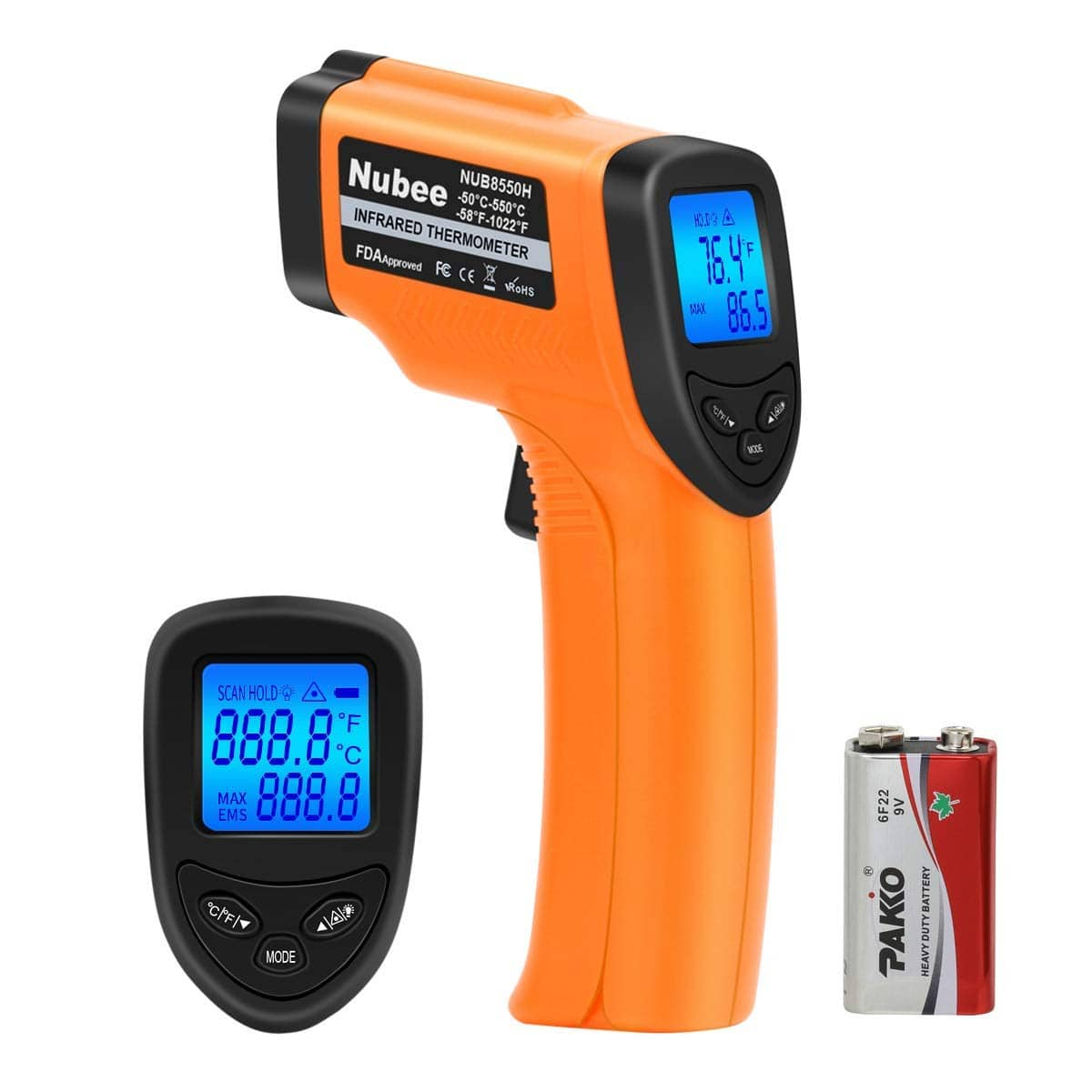 Nubee NUB8550H Digital Infrared Thermometer $11.98 + free shipping