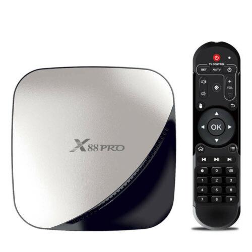 X88 PRO Smart Android 9.0 TV Box 4GB 64GB Quad Core 4K WiFi HD Media Player $37.59/ fs
