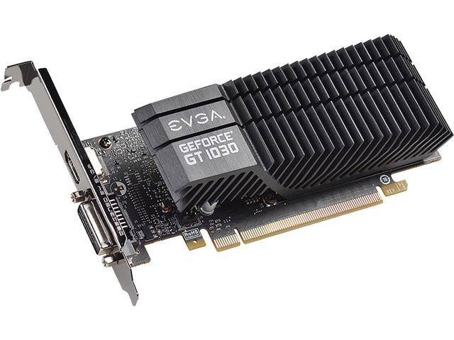 EVGA GeForce GT 1030 SC 2GB GDDR5 Passive, Low Profile Graphics Card $70 FS