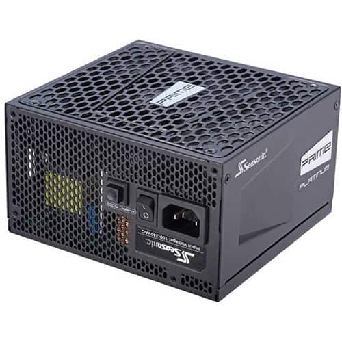 SeaSonic Electronics Prime Ultra 550W Platinum Modular Power Supply $100 AR FS