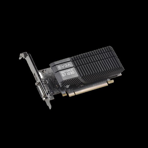 EVGA B-Stock GeForce GT 1030 SC, 02G-P4-6332-RX, 2GB GDDR5, Passive, Low Profile $49.99 w/FS