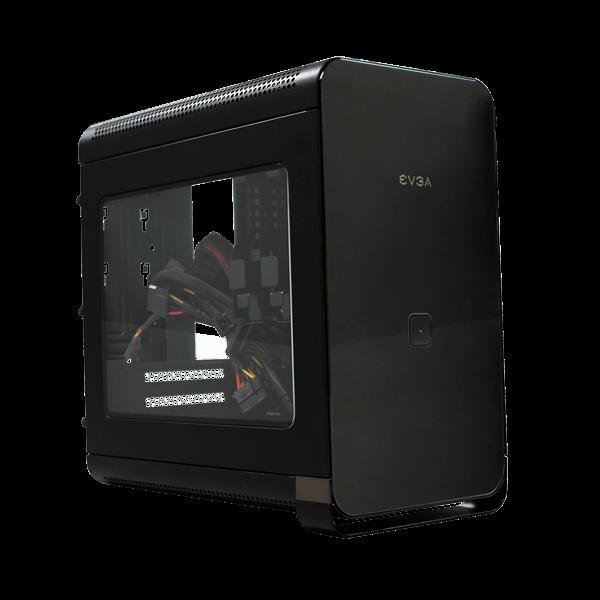 EVGA B-Stock Hadron Air Mini-ITX Black Computer Case with 500W Gold PSU - $70 w/FS