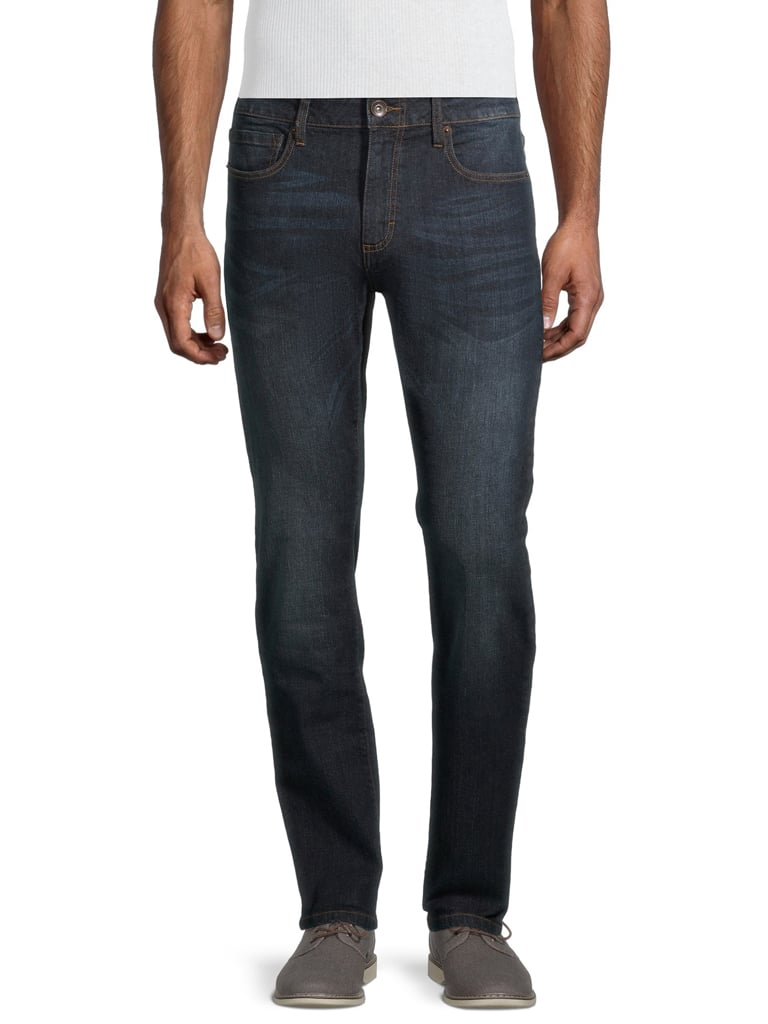 Lazer - Lazer Men's Flex Denim Skinny Fit Jeans - Walmart.com - $10