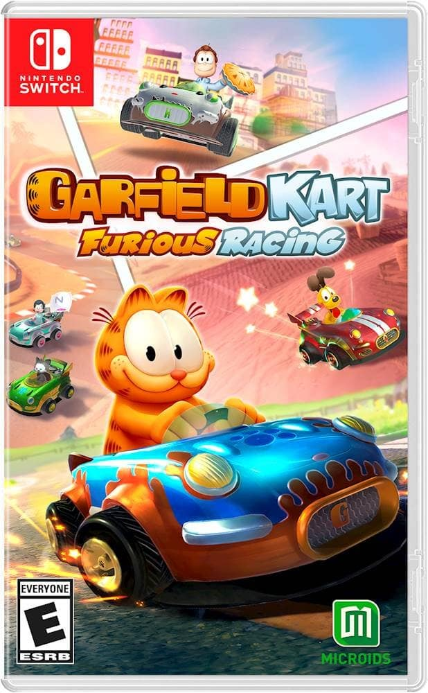 Garfield Kart Furious Racing (NS/X1/PS4) Pre-Order w/ $10 GC $29.99