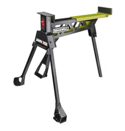 If Found - In Store Only - ROCKWELL Jawhorse 35-in W x 39-in H Adjustable Steel Saw Horse (1,000-lb Capacity) $59.44