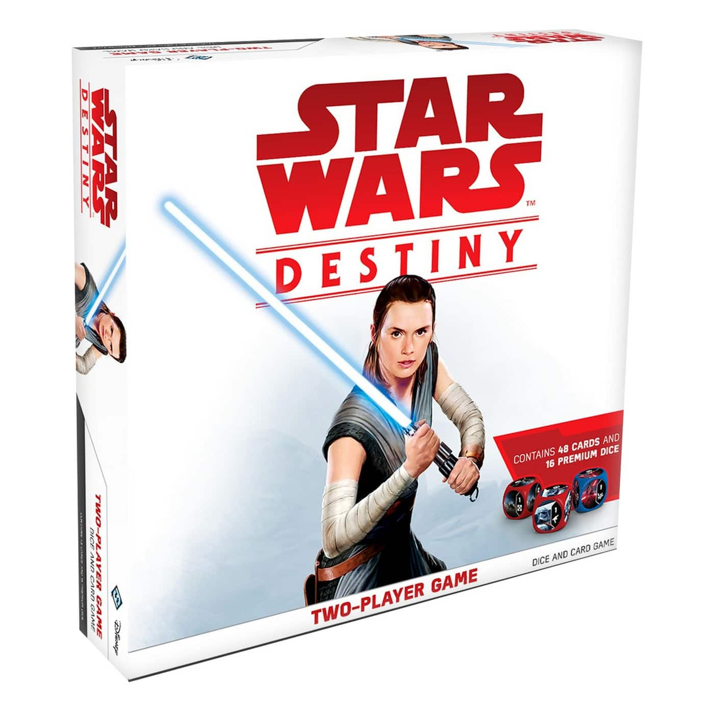 Star Wars Destiny Two-Player Game (48 cards, 16 premium dice) on Clearance YMMV! $8.98