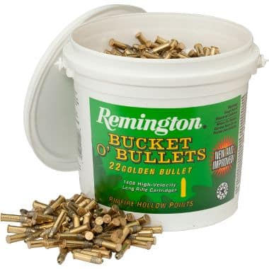OOS: Remington® .22 LR 1,400 rounds Ammo Bucket - Cabelas -  $59.99