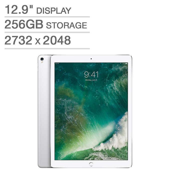 """Costco Members: 256GB Apple iPad Pro  12.9"""" w/ A10X  and 2732 x 2048 Retina Display $799"""