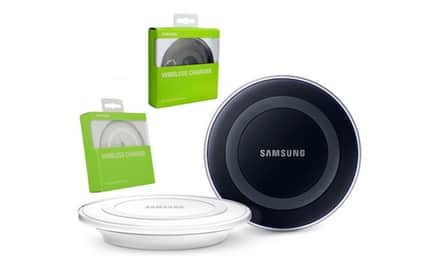 Samsung Wireless Charging Pad - Black / White $11.95