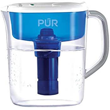 PUR 7 Cup Ultimate Water Filtration Pitcher with LED Indicator, Clear $16.14 + FS with prime
