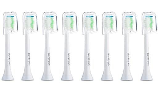 Sonifresh Toothbrush Heads, DiamondClean Sonic Replacement Heads For Philips Sonicare Electric Toothbrush, 8 Pack $8 + FS
