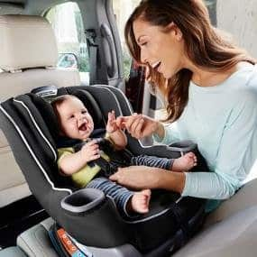 Graco Extend2Fit Convertible Car Seat, Gotham $119 + FS exclusive for prime members  or Walmart with Davis Pattern