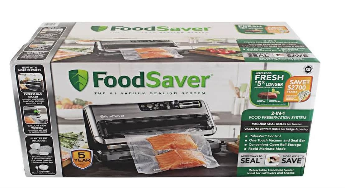 Costco Members via Goole Express App: FoodSaver FM5480 2-in-1 Food Preservation System (Vacuum Sealer) : $75 + Tax (+2000 points with Amex offer)