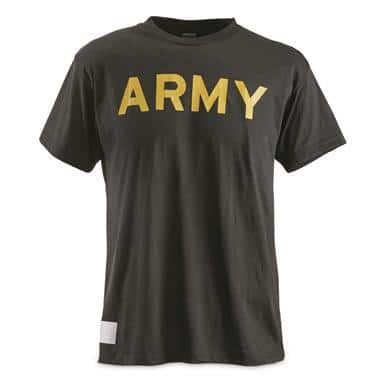 cf3050da U.S. Army Surplus Moisture-Wicking T-shirts, 4 pack, New - $16.19 ...