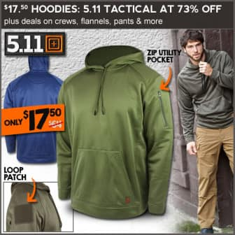 5.11 Tactical Hoodies - $17.50 (Free S/H over $25)
