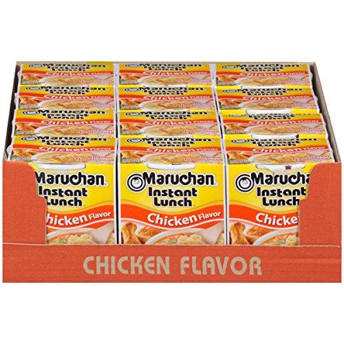 Maruchan Instant Lunch Chicken Flavor, 2.25 Oz, Pack of 12 [Chicken] $3.84