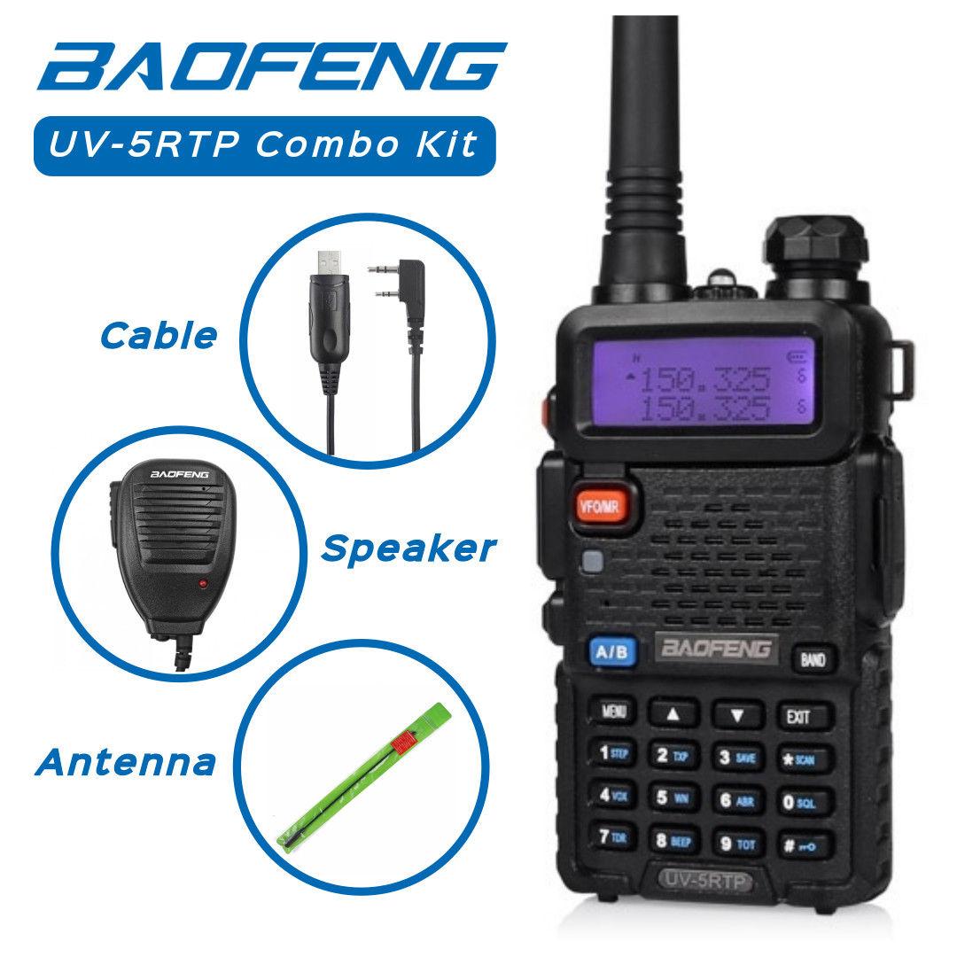 Baofeng UV-5RTP Combo Kit (Antenna &Speaker &Cable) $34 99
