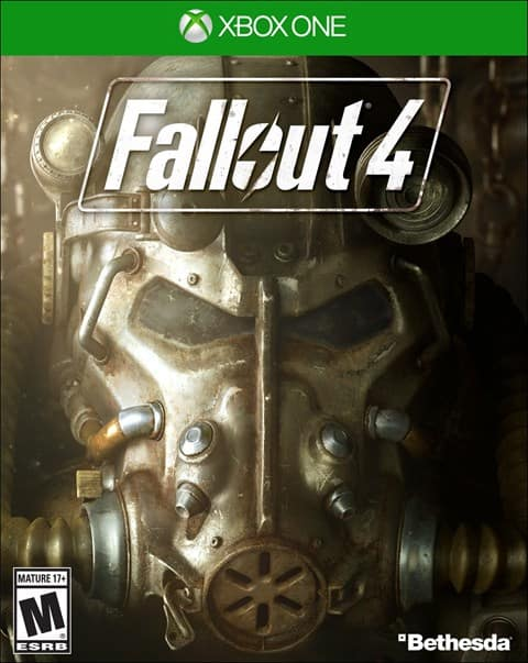 Fallout 4 USED-XBOX ONE/PS4 $17.99